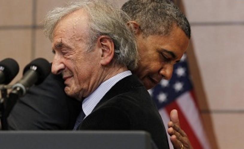 Elie Wiesel si Barack Obama colaboreaza pentru lansarea unei carti