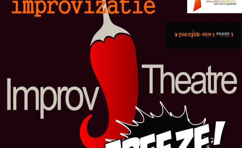 Spectacol de improvizaṭie la Inlight Theatre Pub