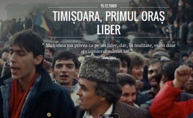 Google şi TVR au lansat o colecţie de materiale video online dedicată Revoluţiei Române din 1989