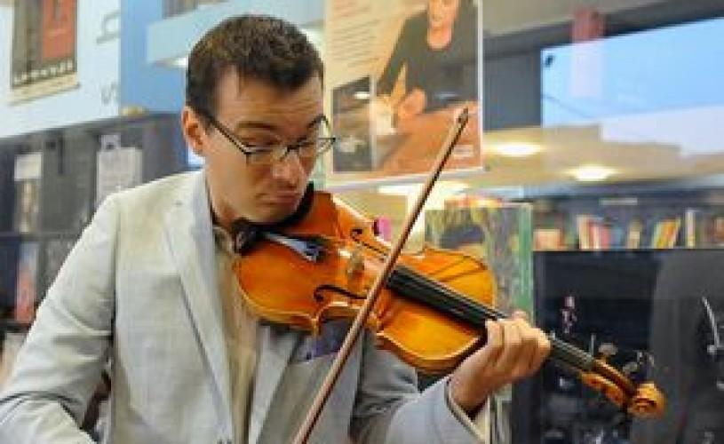 Violonistul Alexandru Tomescu – ambasador HHC Romania