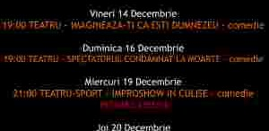 Program In Culise 14-20 Decembrie
