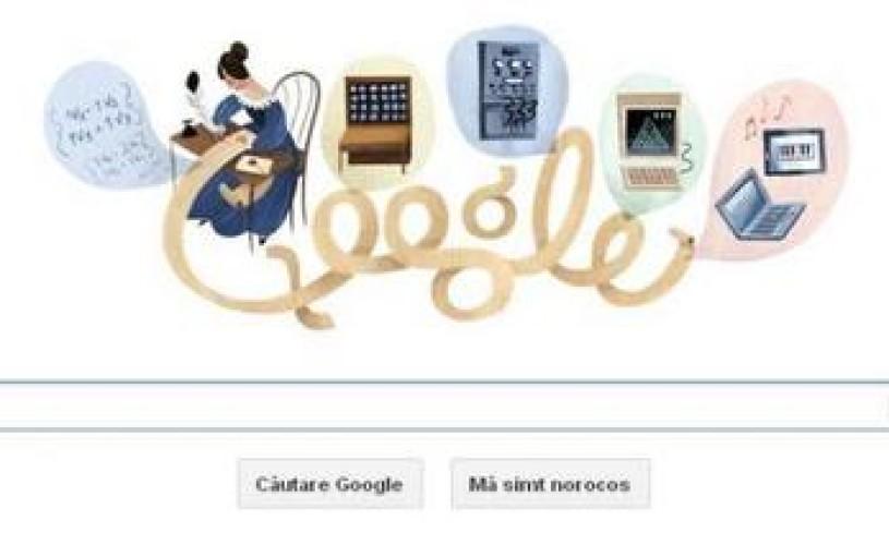 Google o sarbatoreste pe Ada Lovelace