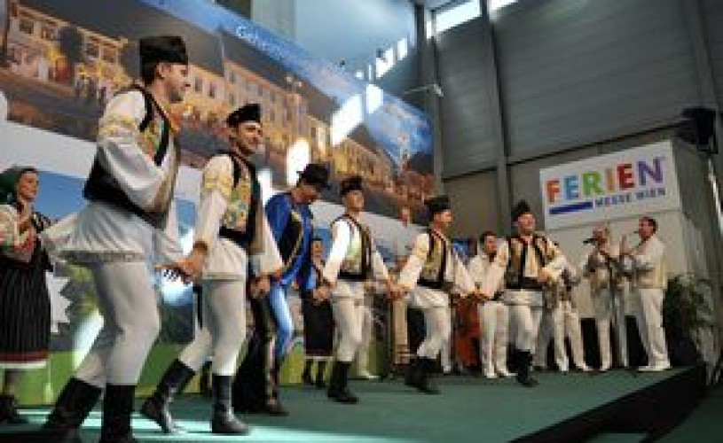 România, singura ţară care a făcut spectacol în primele două zile ale Târgului de Turism de la Viena
