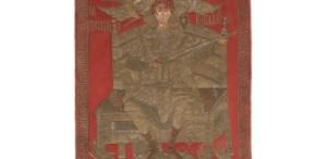 Stindardul liturgic al lui Ştefan cel Mare, expus la Muzeul