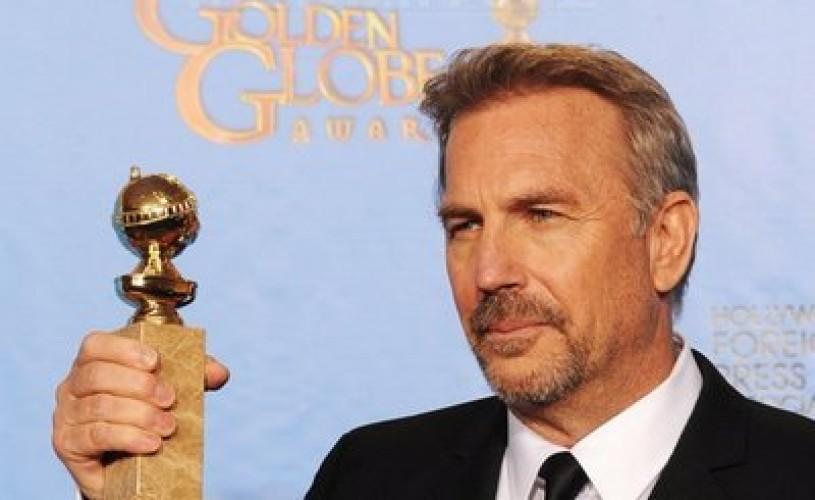 Kevin Costner a mulţumit României în discursul său de la Globurile de Aur