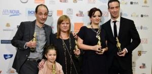 VIDEO Marele câștigător Gopo 2013, ,,Toată lumea din familia noastră'' va beneficia de o proiecție specială