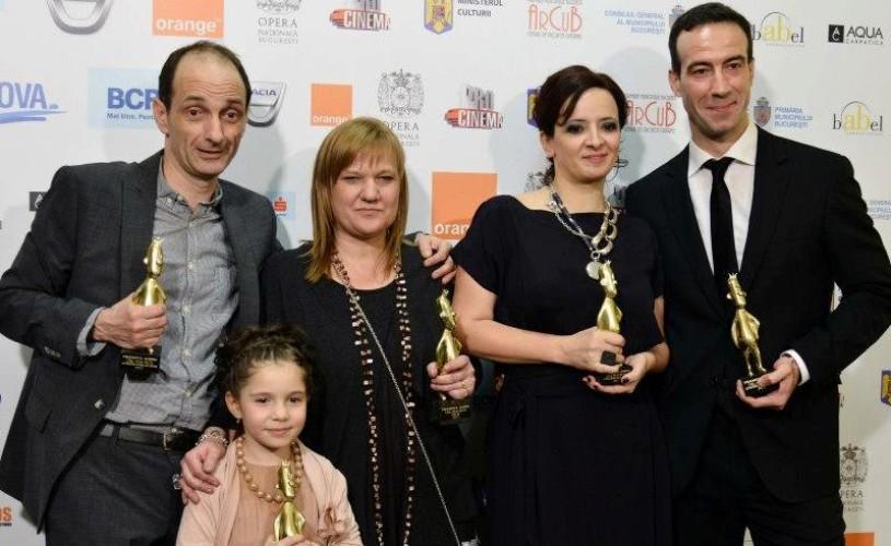 """VIDEO Marele câștigător Gopo 2013, ,,Toată lumea din familia noastră"""" va beneficia de o proiecție specială"""