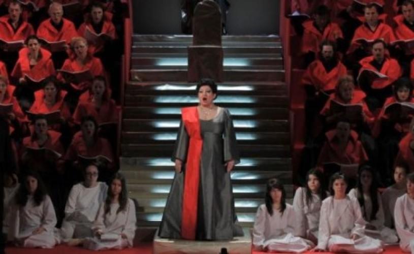 """Soprana Silvia Sorina Munteanu va juca pe scena Operei Naționale București în concertul-spectacol ,,Turandot"""""""