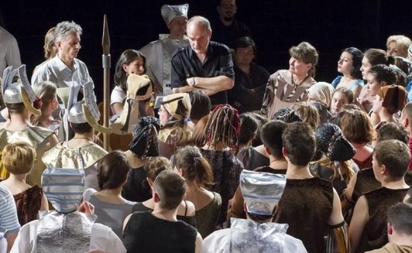 """Spectacolul ,,Aida"""" va fi jucat, în dublă premieră, la Opera Națională Română Iași"""