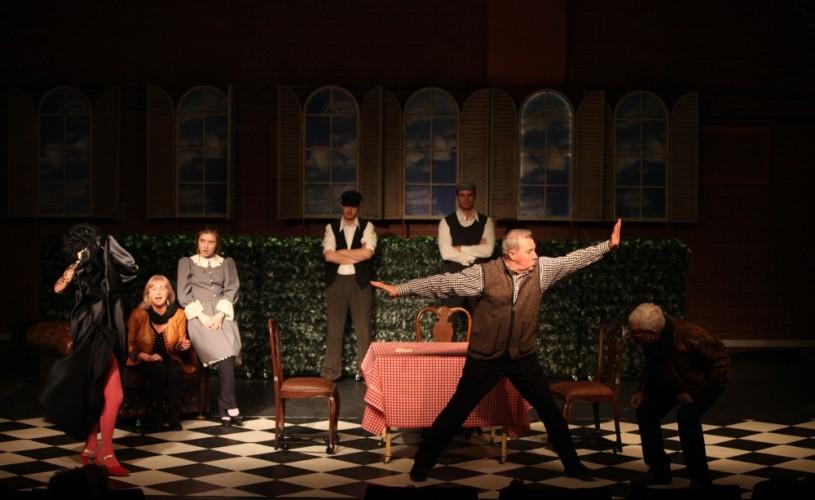 Badaranii se joacă de două ori într-o zi la Teatrul Metropolis