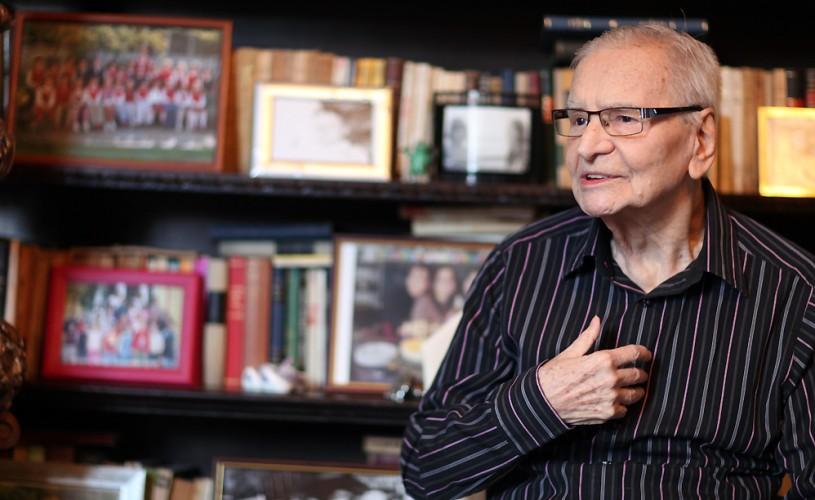 """Radu Beligan joacă în """"Egoistul"""" la cea de-a 95-a aniversare"""