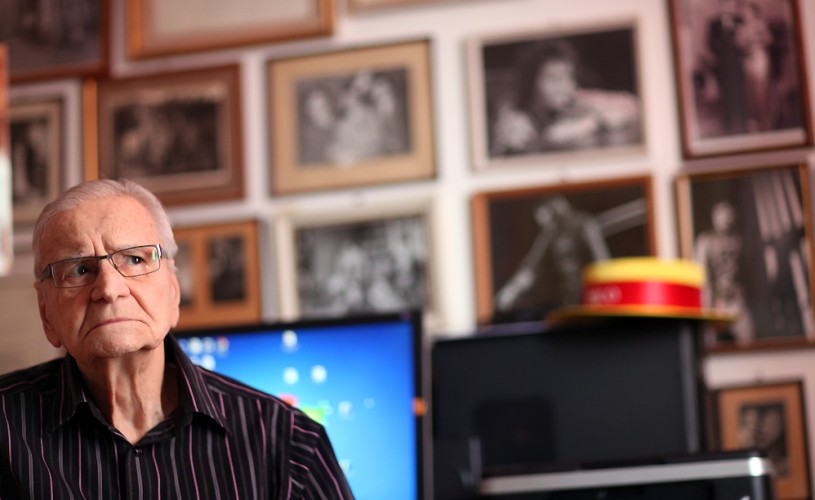 Radu Beligan împlineşte 95 de ani. Viaţa maestrului, pe o coală A4