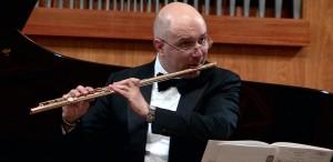 """Ion Bogdan Ştefănescu: """"Un flaut de aur nu poate fi acompaniat decât de un pianist de aur"""""""