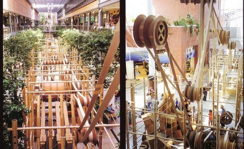 Sun Plaza este cel de-al 82-lea loc mecanizat, în premieră pentru România, de către artistul francez Bernard Lagneau