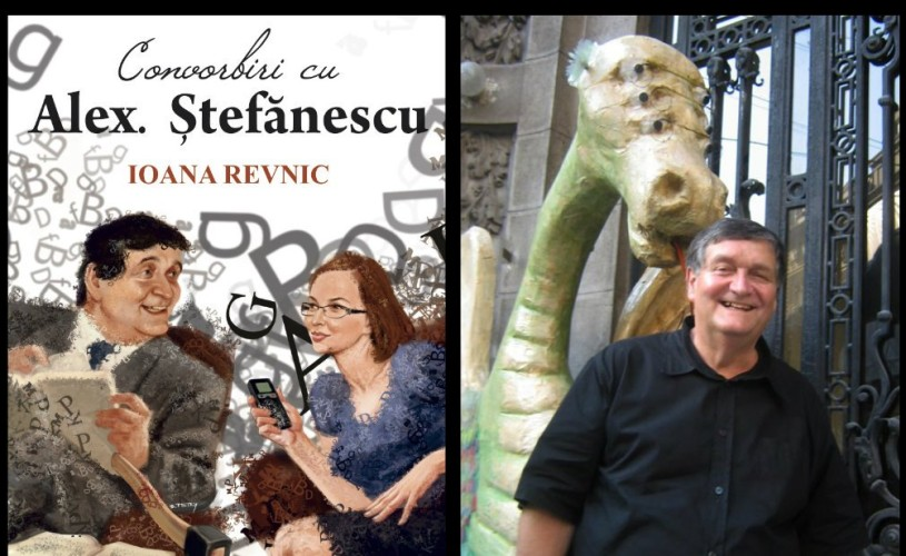 """""""Convorbiri cu Alex. Ştefănescu. Ioana Revnic"""" – lansare la Salonul Internaţional de Carte Bookfest 2013"""