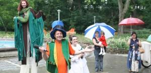 Marian Râlea transformă Parcul Sub Arini din Sibiu într-un tărâm al poveștilor
