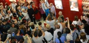 Radu Beligan s-a întâlnit cu admiratorii la Bookfest