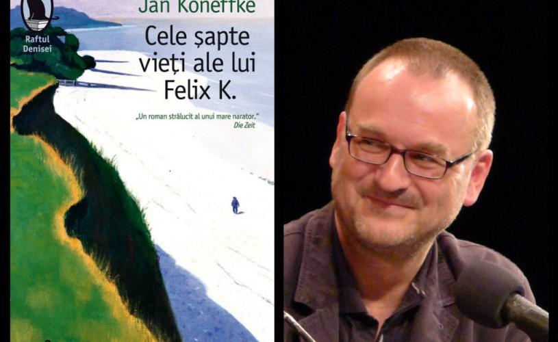 Librăria Humanitas de la Cişmigiu va găzdui lansarea celui mai recent roman semnat Jan Koneffke