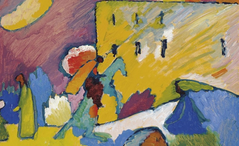 Un tablou al pictorului Vasili Kandinski, vândut cu 21 de milioane de dolari