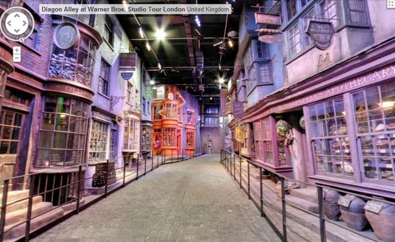 VIDEO Lumea lui Harry Potter poate fi vizitată virtual pe Google Maps