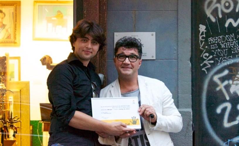 """""""PO'ARTA"""" este lucrarea care a câştigat marele premiu la secţiunea Design/Design de obiect la Anuala de Arhitectură – Bucureşti"""