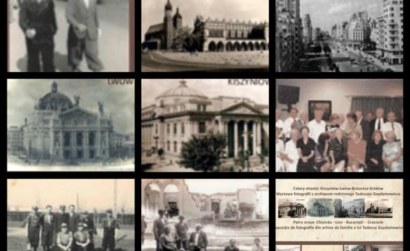 """Expoziţia de fotografie """"Patru oraşe: Chişinău – Liov – Bucureşti – Cracovia"""", la Casa Polonezilor de Pretutindeni de la Cracovia"""