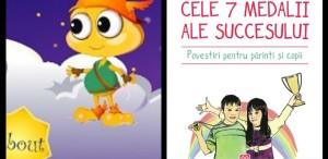 """Aplicaţia educativă """"Cele 7 medalii ale succesului. Povestiri pentru părinţi şi copii"""" este disponibilă pentru Android şi iOS"""