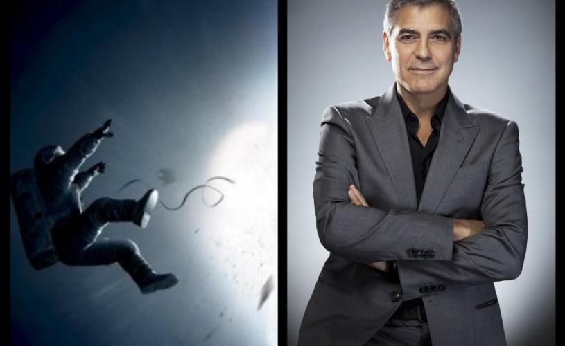 """VIDEO Filmul """"Gravity"""", cu George Clooney, va fi proiectat în deschiderea Festivalului de la Veneţia"""