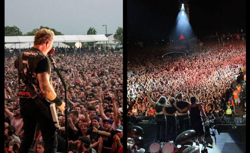 """VIDEO Metallica îşi prezintă filmul """"Metallica: Through the Never"""", la Comic-Con"""