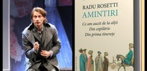 Marius Manole va lectura din romanul lui Radu Rosetti la seara specială de la Librăria Humanitas de la Cişmigiu