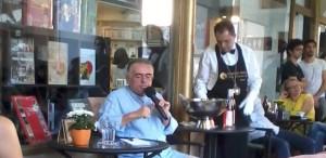 Dan C. Mihailescu  - aniversare cu evenimente surpriză la Librăria Humanitas