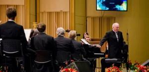 Daniel Barenboim felicită Corul Filarmonicii ,,George Enescu