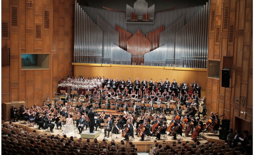 Orchestrele şi Corurile Radio România la Festivalul Enescu