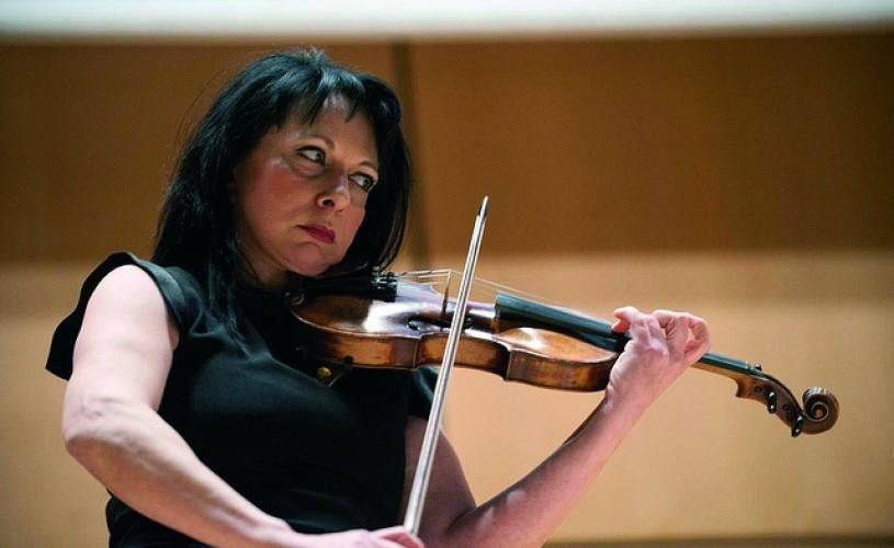 Silvia Marcovici concertează alături de pianistul Evgeny Kissin