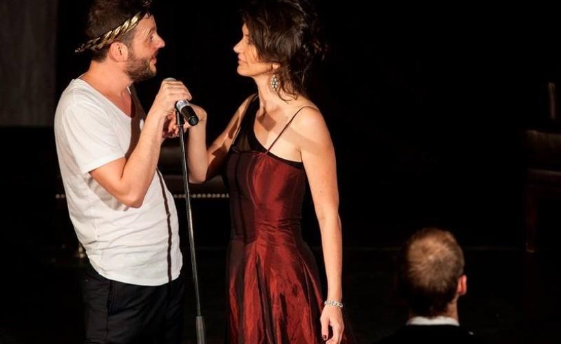 Hamlet Next Hours. Bogdan Dumitrache s-a jucat de-a teatrul