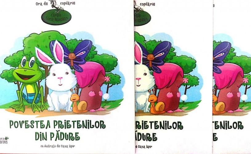 Cartile Lucia Muntean. Câştigă 3 volume pentru copilul tău!