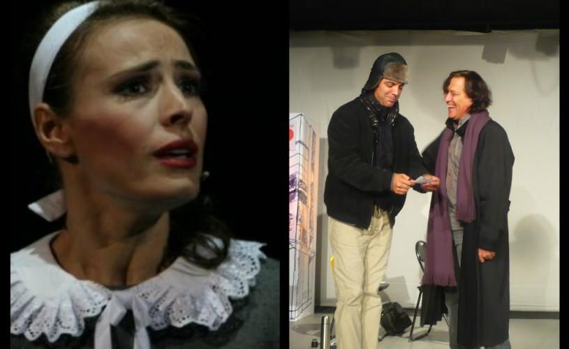 Teatrul Mignon îi aduce pe scenă pe Marius Bodochi şi pe Monica Davidescu