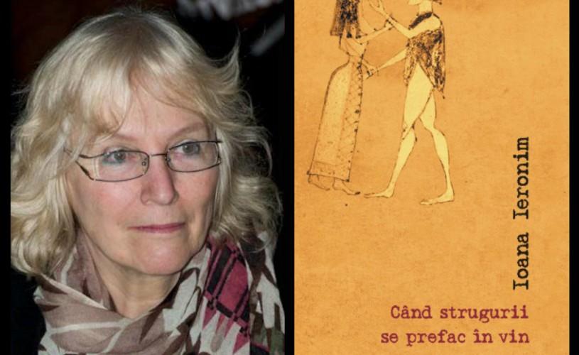 Ioana Ieronim şi-a lansat un nou volum de poezii
