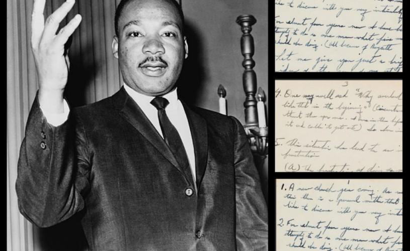 Martin Luther King – documente vândute cu 130.000 de dolari
