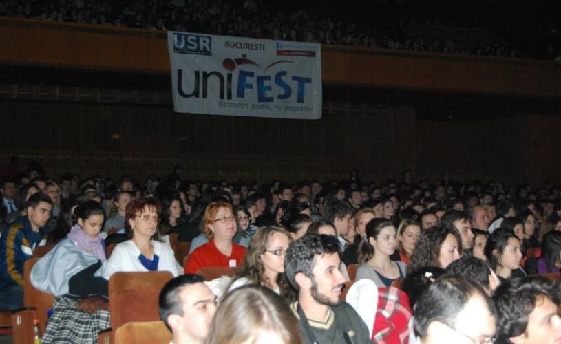 Unifest – acces gratuit pentru studenţi la teatru şi la concerte