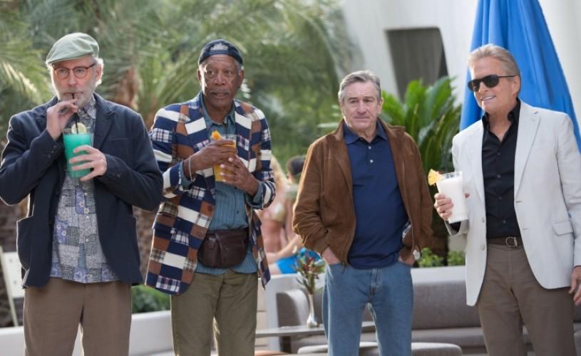 Burlaci intarziati, o comedie cu patru actori de Oscar