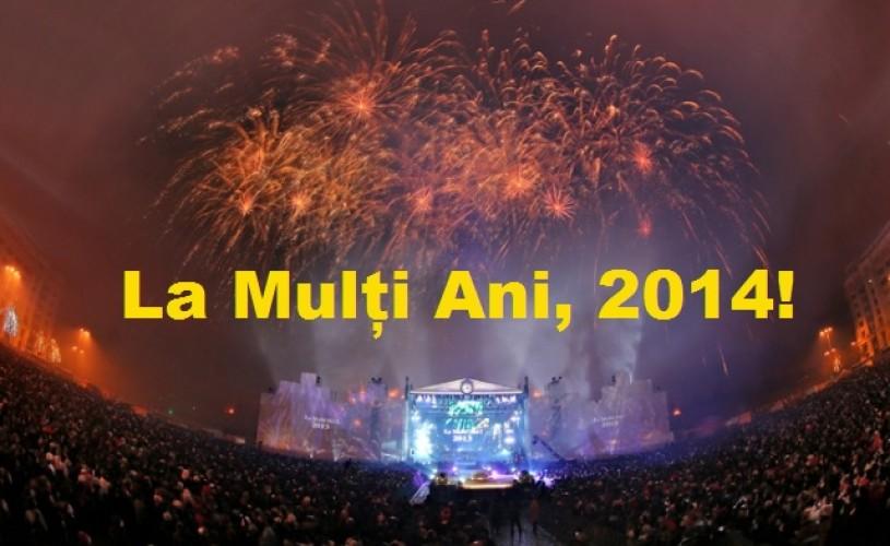 Revelion 2014, in Piata Constitutiei, cu hituri și vedete