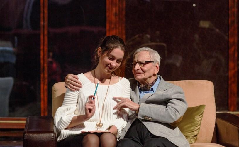 """Mona Radu: """"Am scris «Lecţia de violoncel» pentru Maestrul Beligan şi pentru fiica lui, Lamia"""""""