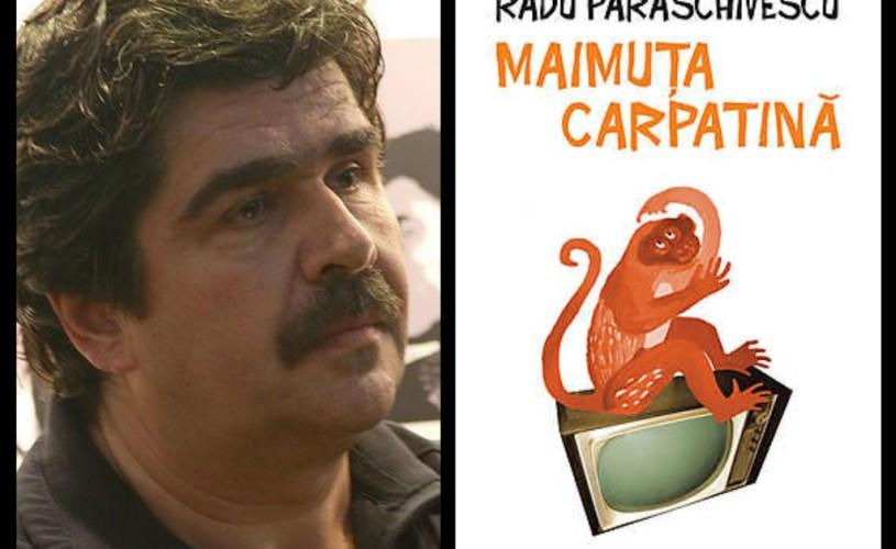"""Radu Paraschivescu citeste din """"Maimuţa carpatină"""" la Humanitas Cişmigiu"""