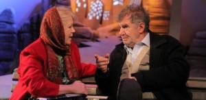 Florin Zamfirescu, Tania Filip şi un reportaj făcut pe-o bancă