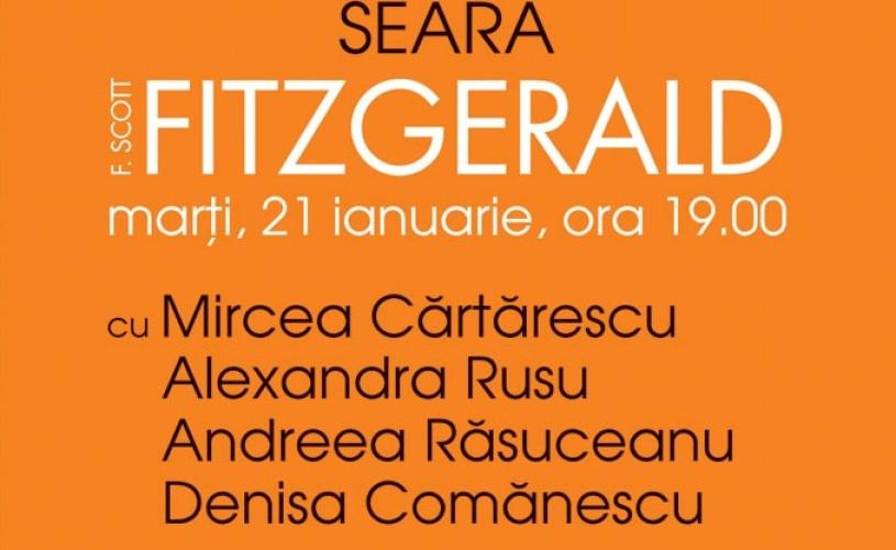 Fitzgerald, comentat de Cărtărescu