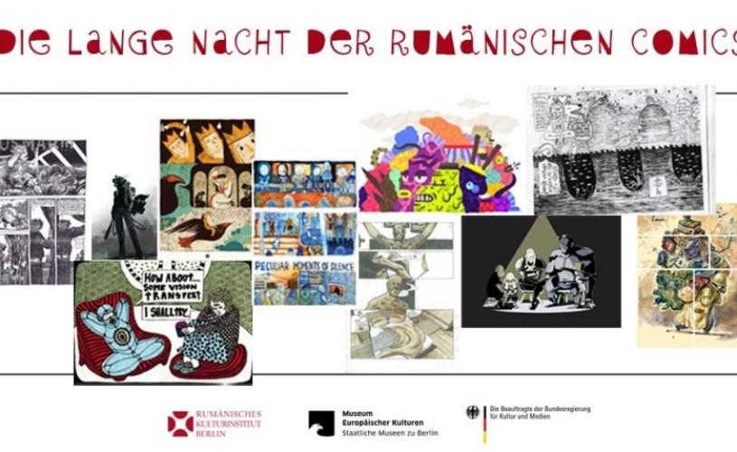 Lunga noapte a benzii desenate romanesti, la Berlin pe 31 ianuarie