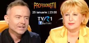 Radu Afrim, la Profesioniştii - sâmbătă, 25 ianuarie