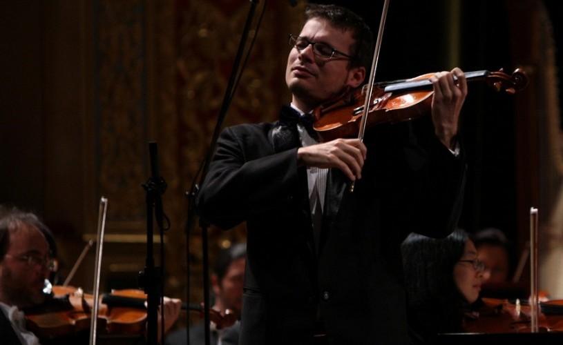 Alexandru Tomescu şi celebrul concert de Mendelssohn, la Sala Radio