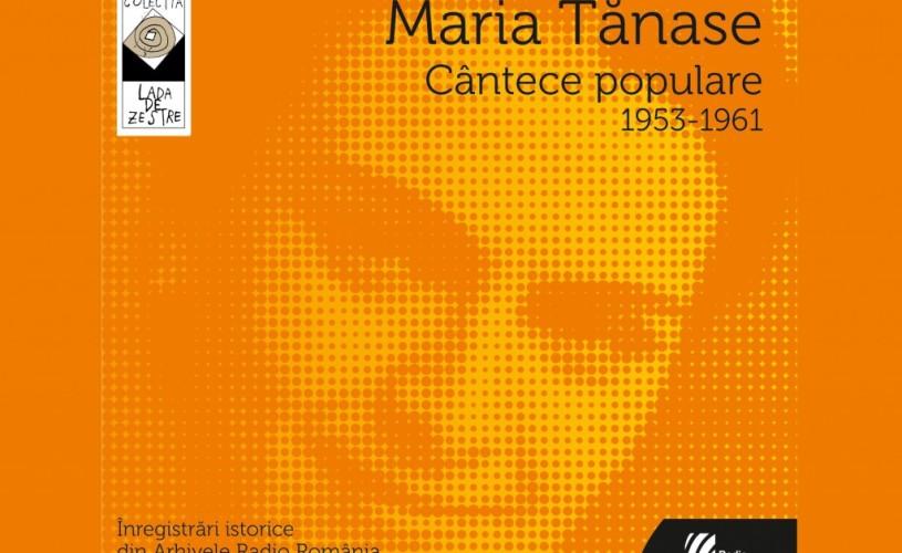 Maria Tanase – 40 de interpretări istorice, la Cafe Verona